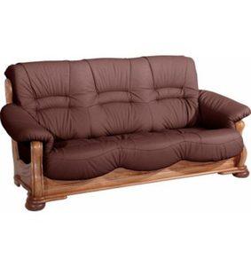 Max Winzer® 3-Sitzer Sofa »Texas«, mit dekorativem Holzgestell, Breite 202 cm