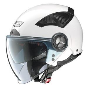Nolan            N33 Evo Classic n-com Metal White #2