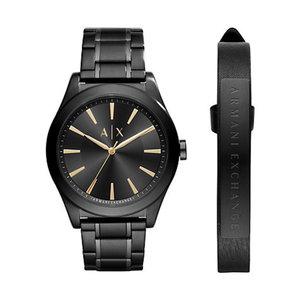 Armani Exchange Set Herrenuhr + Armband