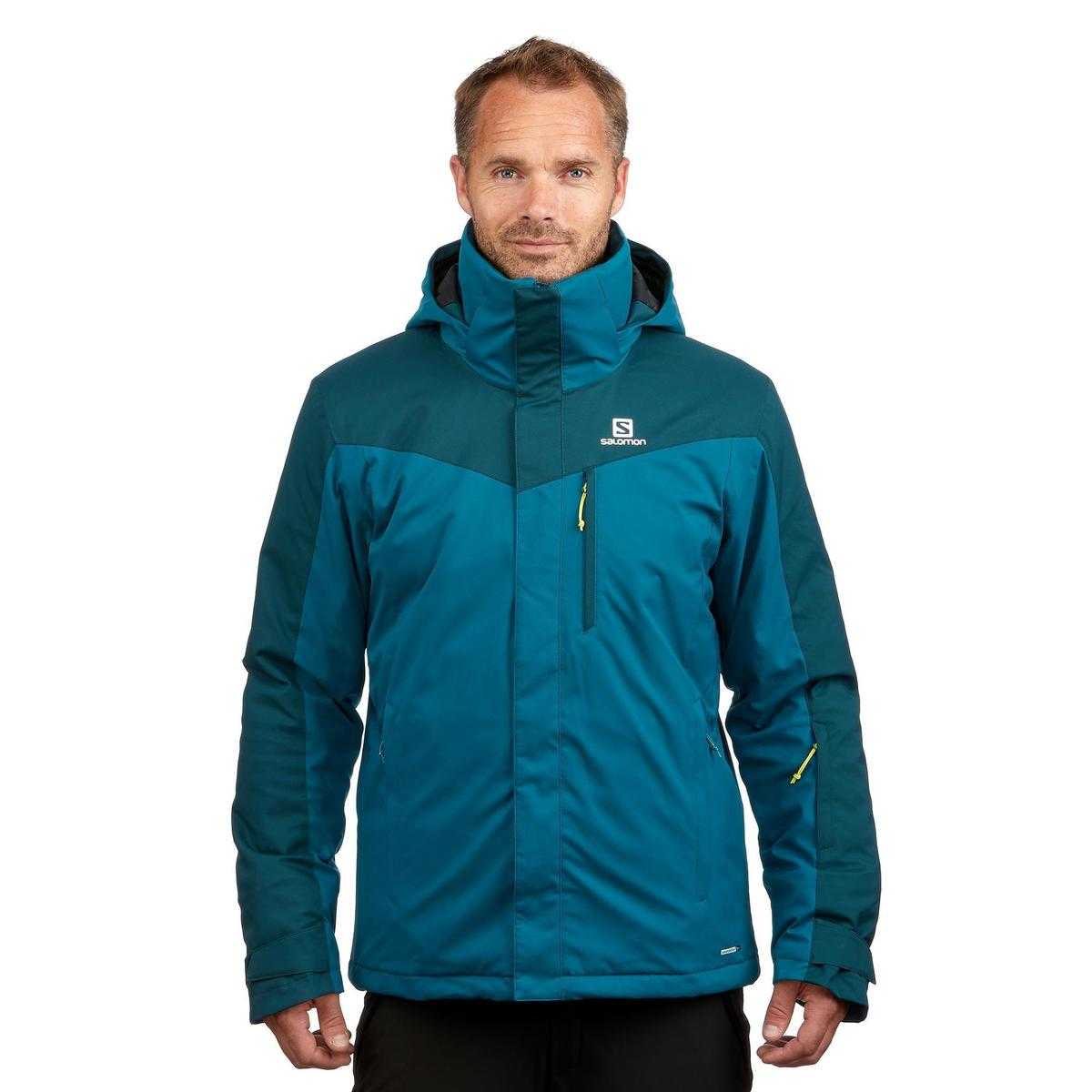 Bild 2 von Skijacke Piste Slope Herren dunkelgrün