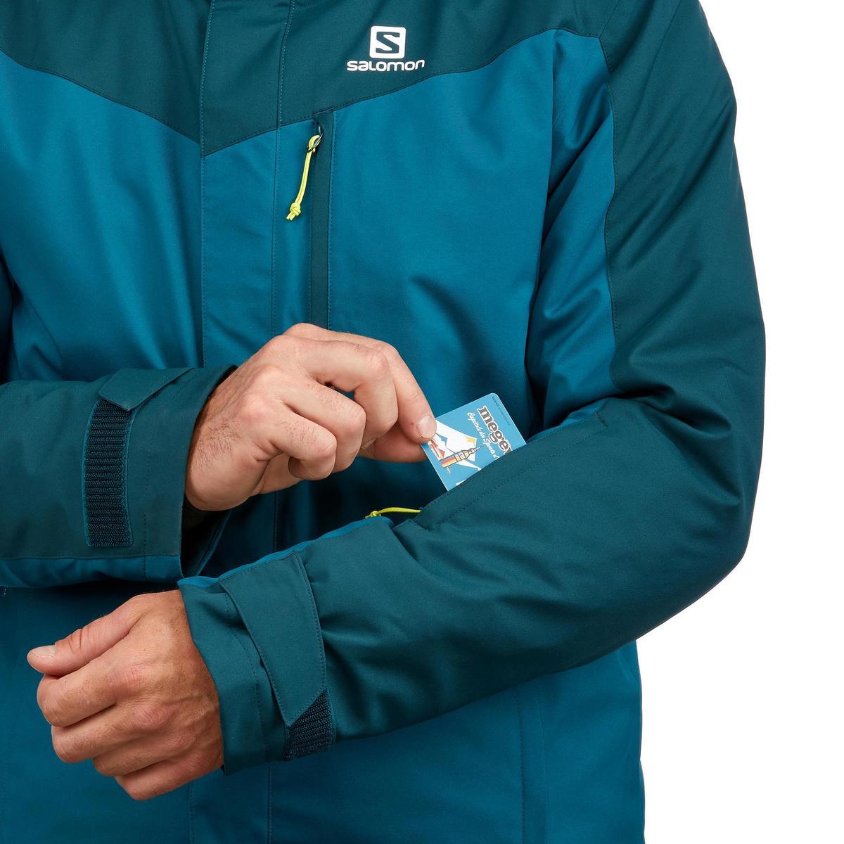 Bild 5 von Skijacke Piste Slope Herren dunkelgrün