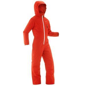 Skianzug GL 100 Kinder rot/orange