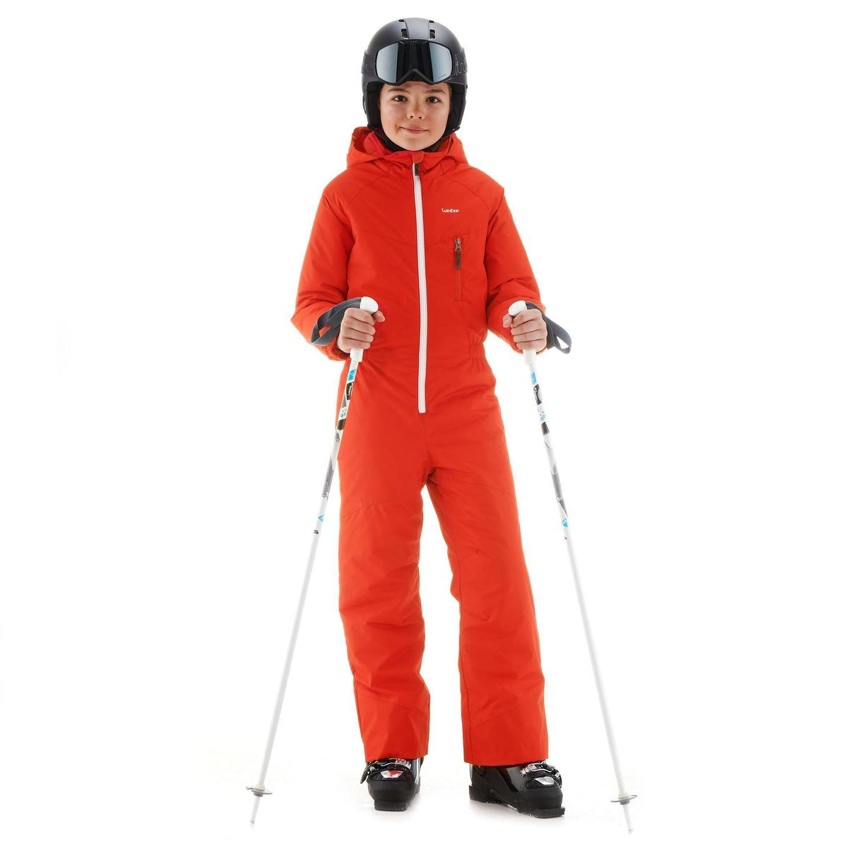 Bild 2 von Skianzug GL 100 Kinder rot/orange