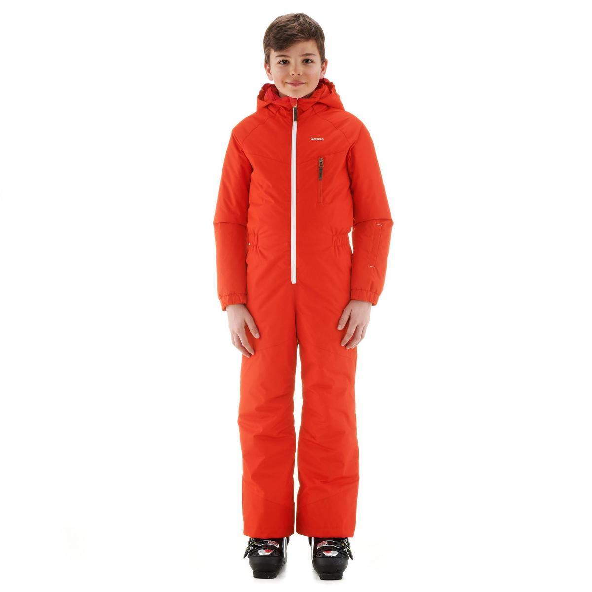 Bild 3 von Skianzug GL 100 Kinder rot/orange