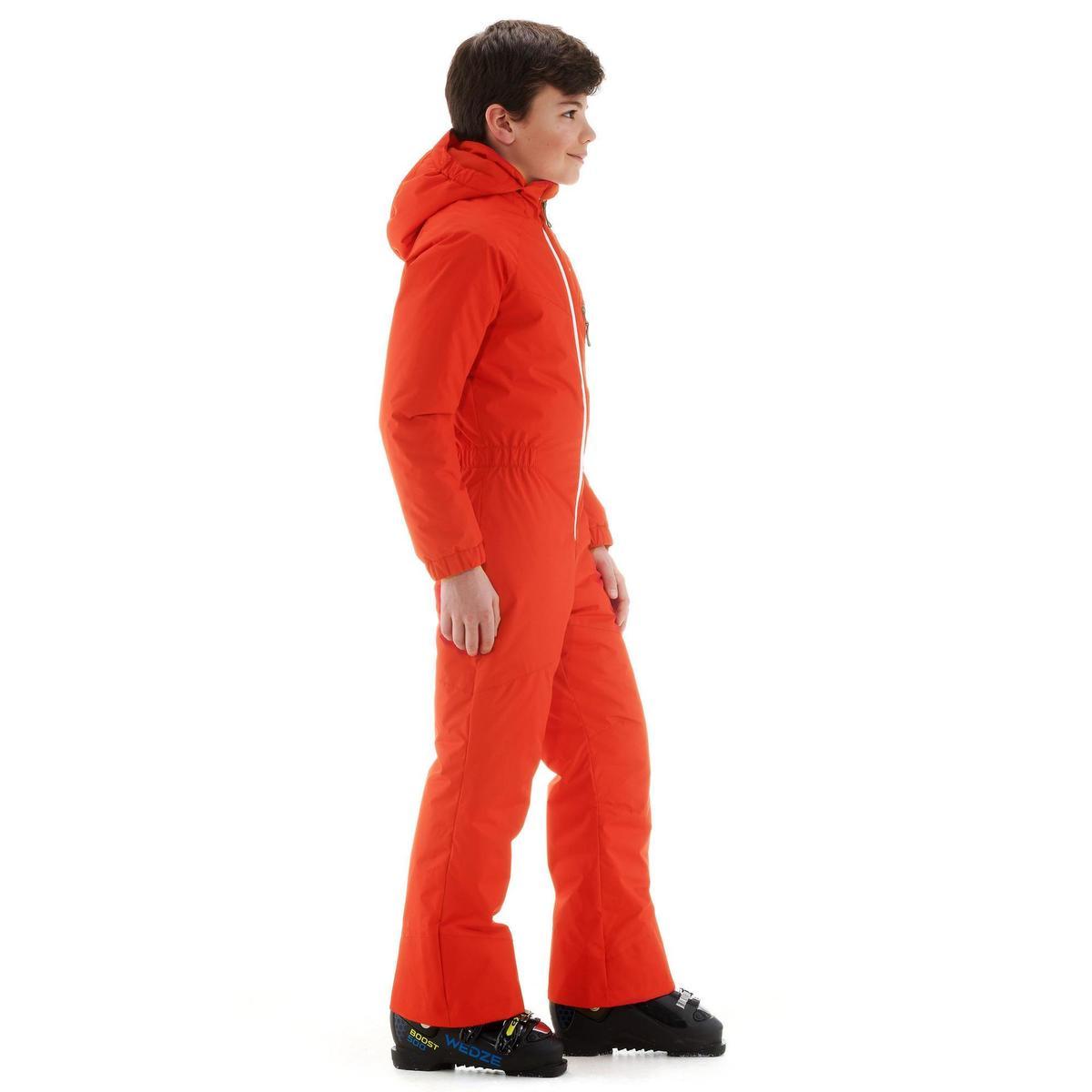 Bild 4 von Skianzug GL 100 Kinder rot/orange