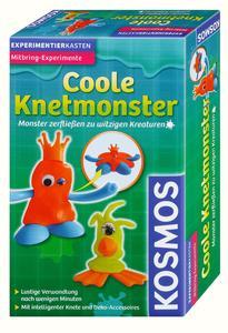 KOSMOS Experimentierkasten Coole Knetmonster
