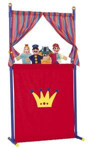 Simba Kaspertheater mit 4 Puppen