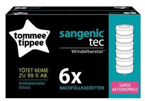 tommee tippee Sangenic Tec Kassette 6er Pack Citr.