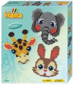 HAMA Tierköpfe - Bügelperlen Geschenkpackung