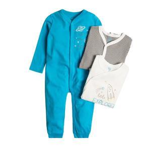 Baby Strampelanzug 3er Pack für Jungen