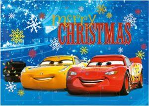 Mal- und Spaß- Adventskalender Disney Cars