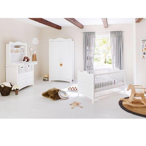 PINOLINO   3-tlg. Babyzimmer Florentina breit mit Regal