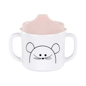 LÄSSIG  4KIDS Schnabeltasse Little Chums Mouse