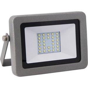 LED-Strahler ohne Sensor Fluter Flare 20 W Silber EEK: A+
