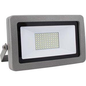 LED-Strahler ohne Sensor Fluter Flare 30 W Silber EEK: A+