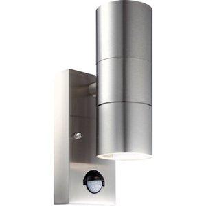 Globo LED-Außenwandleuchte mit Bewegungsmelder Style 2-flammig EEK: A+