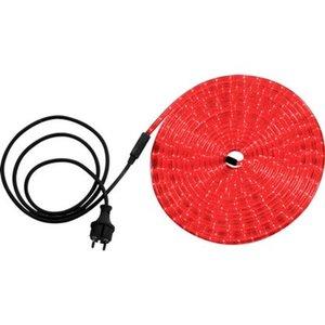 Globo LED-Lichtschlauch Kunststoff 9 m Klar Rot EEK: A++