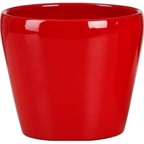 Scheurich Übertopf 800 Ø 13 cm Red