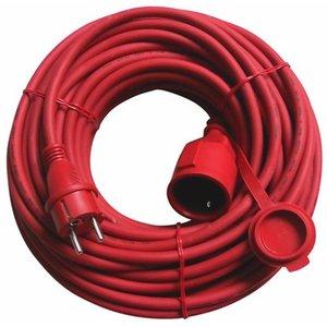 CMI Verlängerungskabel H05RR-F 3G1,5 Rot 20 m