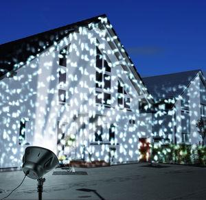 Easymaxx LED-Schneeflocken-Strahler, ca. 16x19x35cm