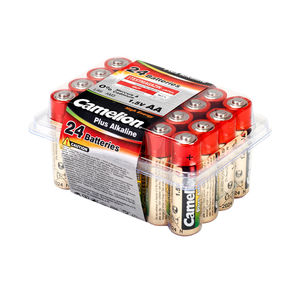 Batteriebox Plus Alkaline Batteriebox AA, 24-teilig