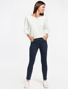 5-Pocket Jeans mit Kontrastnähten