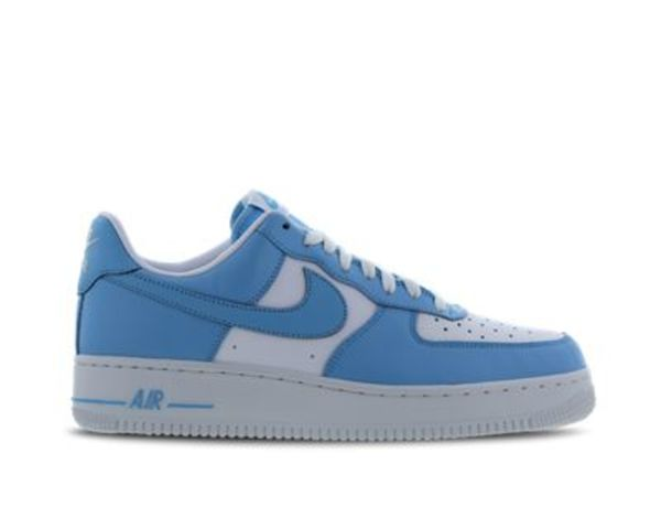 Details about Mens NIKE AIR FORCE 1 LO Blue Gale Trainers