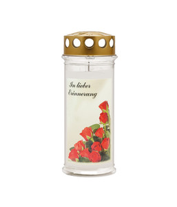 """Ambrosius Grabkerze 7 Tage """"Rose"""""""