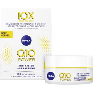 NIVEA Q10 Anti-Falten + Straffung schützende Tagescre 21.98 EUR/100 ml