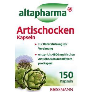 altapharma Artischocken Kapseln 7.78 EUR/100 g