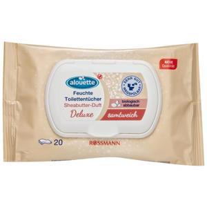 alouette feuchtes Toilettenpapier Sheabutter-Duft Deluxe