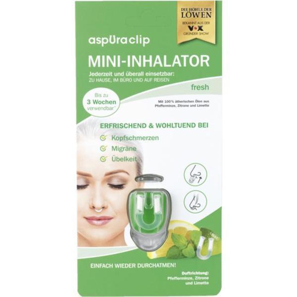aspUraclip Mini-Inhalator fresh