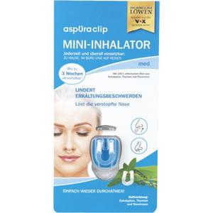 aspUraclip Mini-Inhalator med
