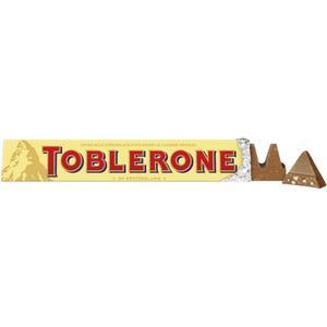 Toblerone Schweizer Milchschokolade mit Honig- und Mandel-Nougat