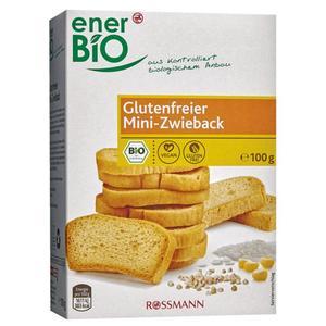 enerBiO Bio Glutenfreier Zwieback 1.99 EUR/100 g