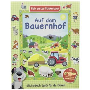 IDEENWELT Stickerbuch Bauernhof