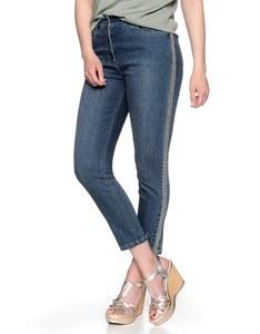 Bexleys Edition - 7/8 Jeanshose mit seitlicher Stickerei