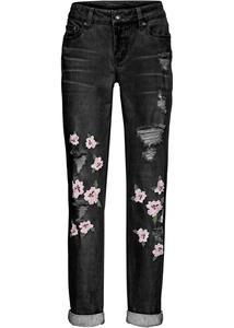Jeans mit Destroyed-Effekten