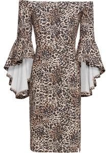 Kleid mit Volant-Ärmel