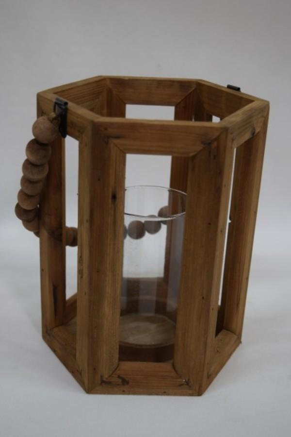 TrendLine Holz- Laterne ,