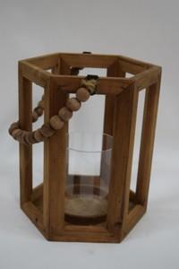 TrendLine Holz-Laterne ,