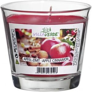 Villa Verde Duftkerze im Glas Apfel-Zimt