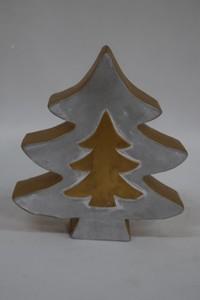 TrendLine Dekofigur Tannenbaum ,  17,5 x 4 x 19,5 cm