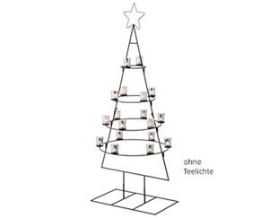 CASADeco Weihnachtsbaum aus Metall