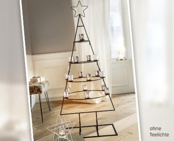 Weihnachtsbaum Metall.Casa Deco Weihnachtsbaum Aus Metall
