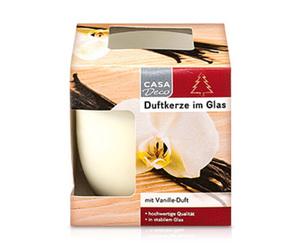 CASA Deco Duftkerze im Glas