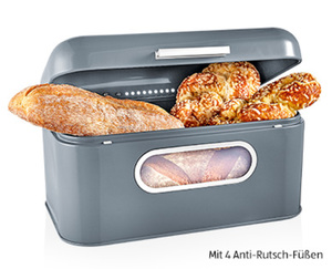 CROFTON®  Chef's Collection Brotkasten mit Sichtfenster