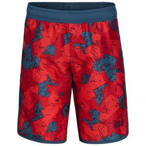 Jack Wolfskin Shorts Jungen Marble Shorts Boys 176 rot