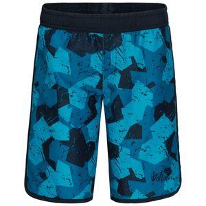 Jack Wolfskin Shorts Jungen Marble Shorts Boys 176 blau