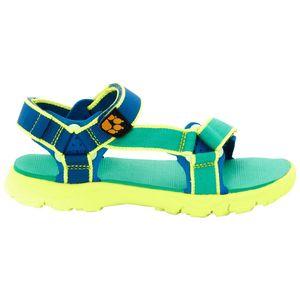 Jack Wolfskin Jungen Sandalen Seven Seas 2 Sandal Boys 31 grün